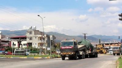 firtina obusu - Suriye sınırına tank ve fırtına obüsü sevkiyatı (5) - HATAY