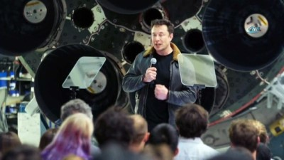 uzay istasyonu -  - İş Adamı Musk, Ay'a Yolculuğa Hazırlanıyor