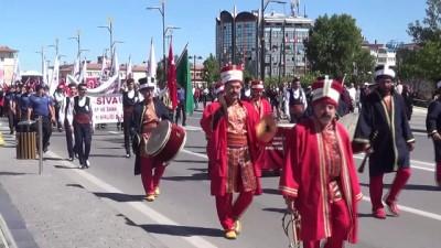 af orgutu -  Sivas'ta Ahilik Haftası kutlandı