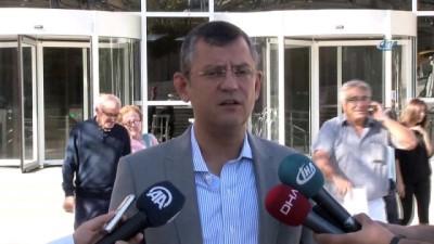 adalet yuruyusu -  CHP Grup Başkanvekili Özel'den 'Telefon dinlemesi' ile ilgili açıklama