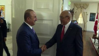 Bakan Çavuşoğlu, Surinam Devlet Başkanı Bouterse tarafından kabul edildi - PARAMARİBO