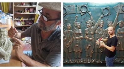 dinozor - Trabzonlu heykeltıraşlar dinozor heykellerine tepkili: Lazım olsaydı biz yapardık