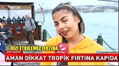 Tropik fırtına İstanbul'u da vuracak!