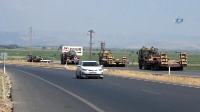 Hatay'da askeri sevkiyat devam ediyor