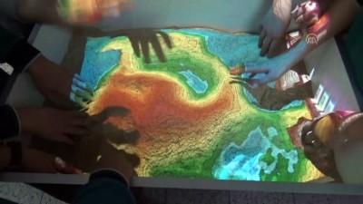 oyun konsolu - Ortaokul öğrencilerinden 'Artırılmış gerçeklik havuzu' - AMASYA