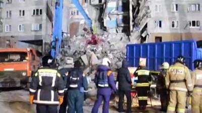Rusya'daki doğal gaz patlaması - Arama kurtarma çalışmaları - MAGNİTOGORSK
