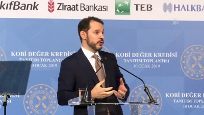 Hazine ve Maliye Bakanı Albayrak: Bu projeyle 20 ile 40 bin işletmemize dokunacağız - İSTANBUL