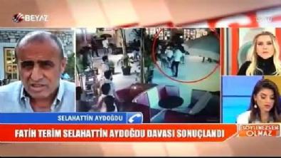 Selahaddin Aydoğdu'dan Fatih Terim'e tepki