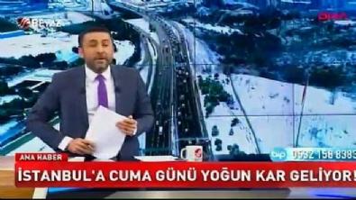 İstanbul'a kar geliyor... Cuma gününe dikkat!