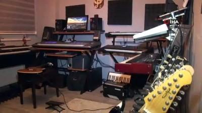 saldirganlik -  Otizmli kızının tedavisi için evini müzik stüdyosuna çevirdi