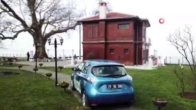 yakit tuketimi -  Yalova'nın elektrikli ilk resmi kurum arabası Yürüyen Köşk'te tanıtıldı