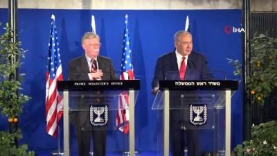 galler -  - İsrail ABD'nin işgallerini tanımasını istiyor