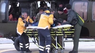 Askeri helikopter rahatsızlanan hasta için havalandı - MALATYA
