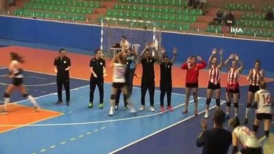 voleybol takimi - Beşiktaş, Nevşehir Belediyespor'u 3-1 mağlup etti