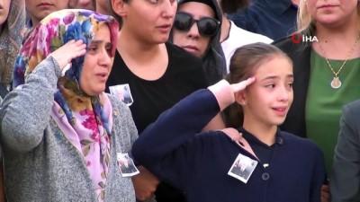 Barış Pınarı Harekatı şehitleri memleketlerine uğurlandı