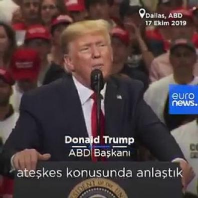 Trump'tan anlaşma sonrası küstah açıklama