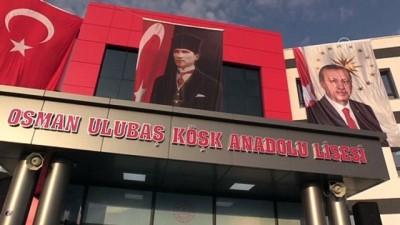 Cumhurbaşkanı Erdoğan, Osman Ulubaş Köşk Anadolu Lisesinin açılışını yaptı - KAYSERİ