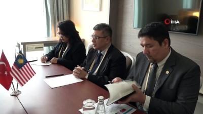 disisleri bakanlari -  - Bakan Çavuşoğlu, Malezya ve Venezuela dışişleri bakanları ile görüştü