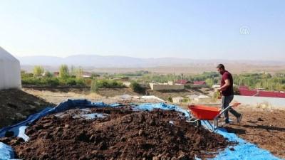 solucan gubresi - İstanbul'dan köyüne solucan gübresi üretmek için döndü - MALATYA ....haber eksik