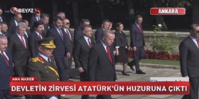 Devletin zirvesi Atatürk'ün huzuruna çıktı