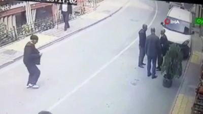 kan davasi - Pütürge'de cinayet anı kamerada