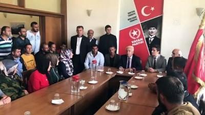 İBB'de işten çıkartılan işçiler, Vatan Partisi'ni ziyaret etti - İSTANBUL