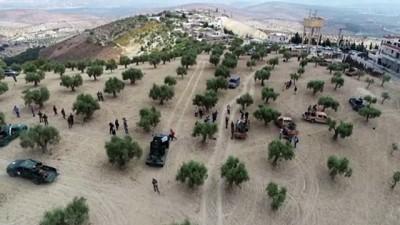 ozel kuvvet - Suriye Milli Ordusu, Fırat'ın doğusu için hazır - Drone görüntüsü - AFRİN