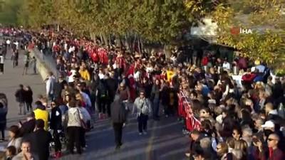 milli bayramlar -  Kadıköy'de Ata'ya 'Saygı Zinciri'