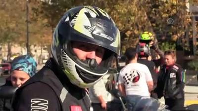 Motorcular '10 Kasım' koreografisi hazırladı - EDİRNE