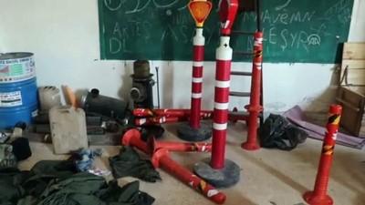 keskin nisanci - YPG/PKK, Rasulayn'da okulu karargah olarak kullandı