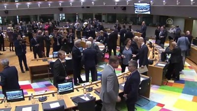 disisleri bakanlari - AB Dış İlişkiler Konseyi Toplantısı - BRÜKSEL