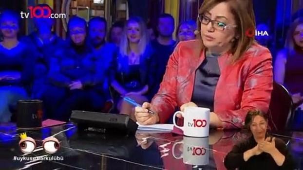 okan bayulgen -  Okan Bayülgen'in programına konuk olan Fatma Şahin'in güldüren anları