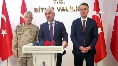 İçişleri Bakan Yardımcısı ve Jandarma Genel Komutanı Bitlis'te