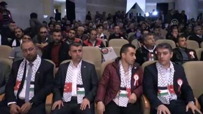 (TEKRAR) Hak-İş Başkanı Arslan: 'Kudüs de bizim davamızdır' - KONYA