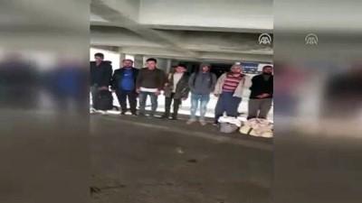 kacak gecis - Ankara'da 68 düzensiz göçmen yakalandı