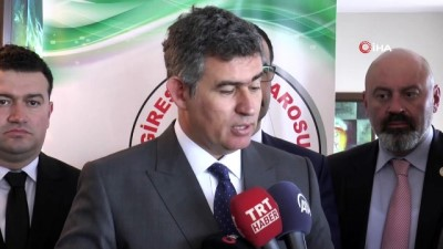 """TBB Başkanı Feyzioğlu: """"Yargı reformu ile son 20 yıldır çözülmesi gereken sorunlar çözüldü"""""""