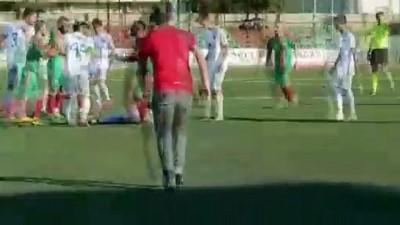 amator lig - Cizre'de amatör lig maçında kavga - ŞIRNAK