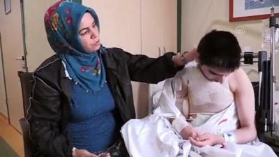 Sara nöbetinde üzerine kaynar su dökülen epilepsi hastası genç yaralandı - ERZURUM