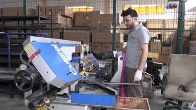 Türkiye'de üretilen silahlar Hollywood filmlerinde de kullanılıyor - ANTALYA