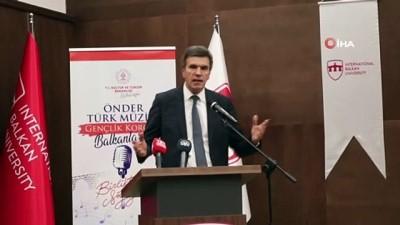 sanat muzigi -  - Kuzey Makedonya'da Türk Müziği Konseri Verildi