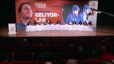 voleybol takimi -  Başakşehir'de Gençlik Çalıştayı'na gençlerden yoğun ilgi