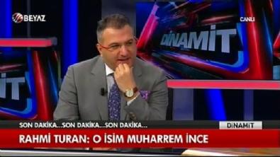 Rahmi Turan: 'Beştepe'ye giden CHP'li Muharem İnce'