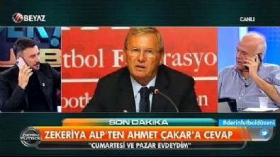 Zekeriya Alp'ten Ahmet Çakar'a cevap!