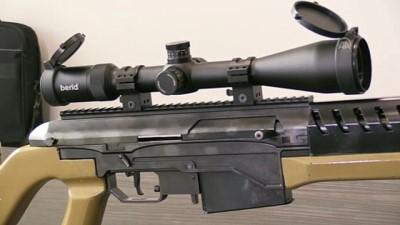 keskin nisanci - Özel sektörden yerli yarı otomatik keskin nişancı tüfeği - KIRIKKALE