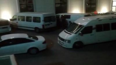 kacak gecis -  Ankara'da göçmen kaçakçılığı operasyonu: 4 gözaltı