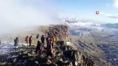 Nemrut Dağı'na esrarengiz olay