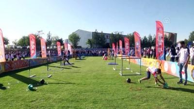 milli atletler - Türkiye Atletizm Federasyonundan 'Çocuk Atletizm Şenliği' - DİYARBAKIR