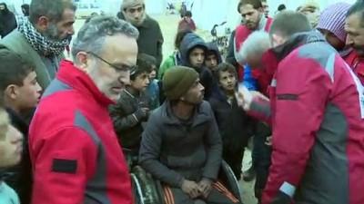komur yardimi - Türk Kızılaydan ihtiyaç sahibi Suriyeliler için ısıtıcı ve kömür yardımı çağrısı - KİLİS