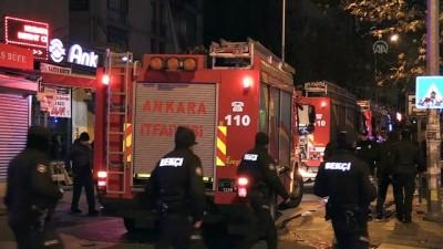 Başkentte eğlence merkezinde çıkan yangın itfaiye ekiplerince söndürüldü - ANKARA