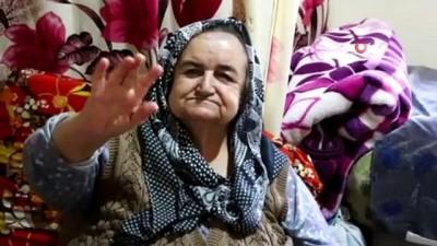asiri kilolar -  180 kiloluk yaşlı kadın tek başına yaşam savaşı veriyor